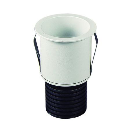 Встраиваемый светодиодный светильник Mantra Guincho 7082, IP54, LED 5W 2700K 410lm CRI80, белый, металл