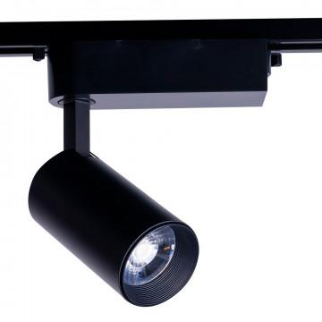 Светодиодный светильник Nowodvorski Profile Iris 9009, LED 30W 3000K 1960lm, черный, металл