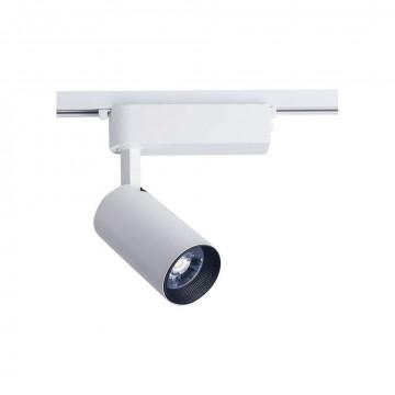 Светодиодный светильник с регулировкой направления света Nowodvorski Profile Iris 9010, LED 30W 4000K 1960lm, белый, металл