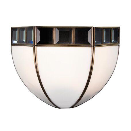 Бра Citilux Шербург-1 CL440312, 1xE27x75W, бронза, металл, стекло