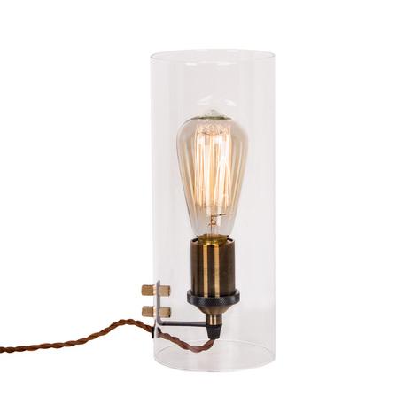 Настольная лампа Citilux Эдисон CL450802, 1xE27x100W, бронза, прозрачный, металл, стекло