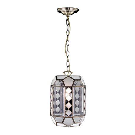 Подвесной светильник Citilux Фасет CL441212, 1xE27x75W, бронза, прозрачный, металл, стекло
