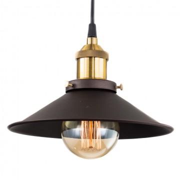 Подвесной светильник Citilux Эдисон CL450101, 1xE27x100W, бронза, черный, коричневый, металл - миниатюра 2