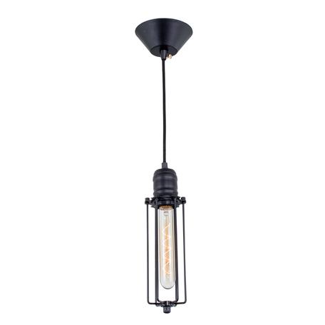 Подвесной светильник Citilux Эдисон CL450202, 1xE27x60W, черный, металл