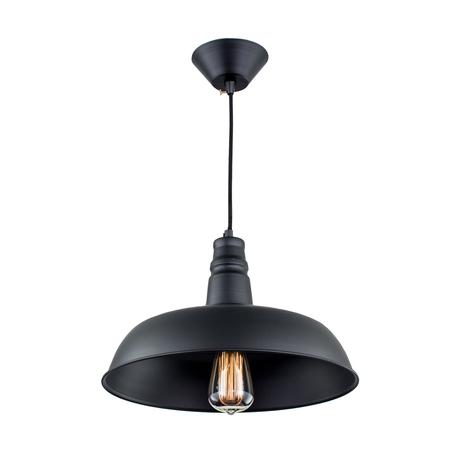 Подвесной светильник Citilux Эдисон CL450204, 1xE27x60W, черный, металл