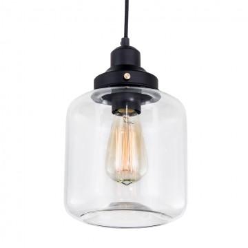 Подвесной светильник Citilux Эдисон CL450206, 1xE27x60W, черный, прозрачный, металл, стекло - миниатюра 2