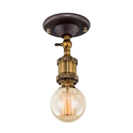 Потолочный светильник Citilux Эдисон CL450500, 1xE27x100W, бронза, венге, металл