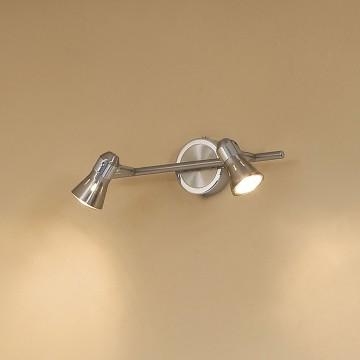 Потолочный светильник с регулировкой направления света Citilux Техно CL503521, 2xGU10x50W, хром, металл - миниатюра 3