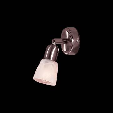 Потолочный светильник с регулировкой направления света Citilux Ронда CL506511, 1xE14x60W, хром, белый, металл, стекло - миниатюра 2