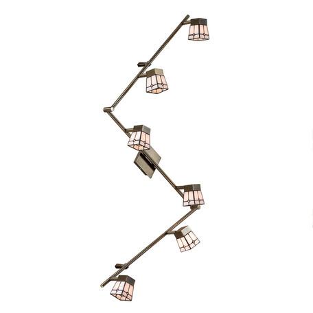 Потолочный светильник с регулировкой направления света Citilux Готика CL512563, 6xG9x40W, бронза, металл, стекло