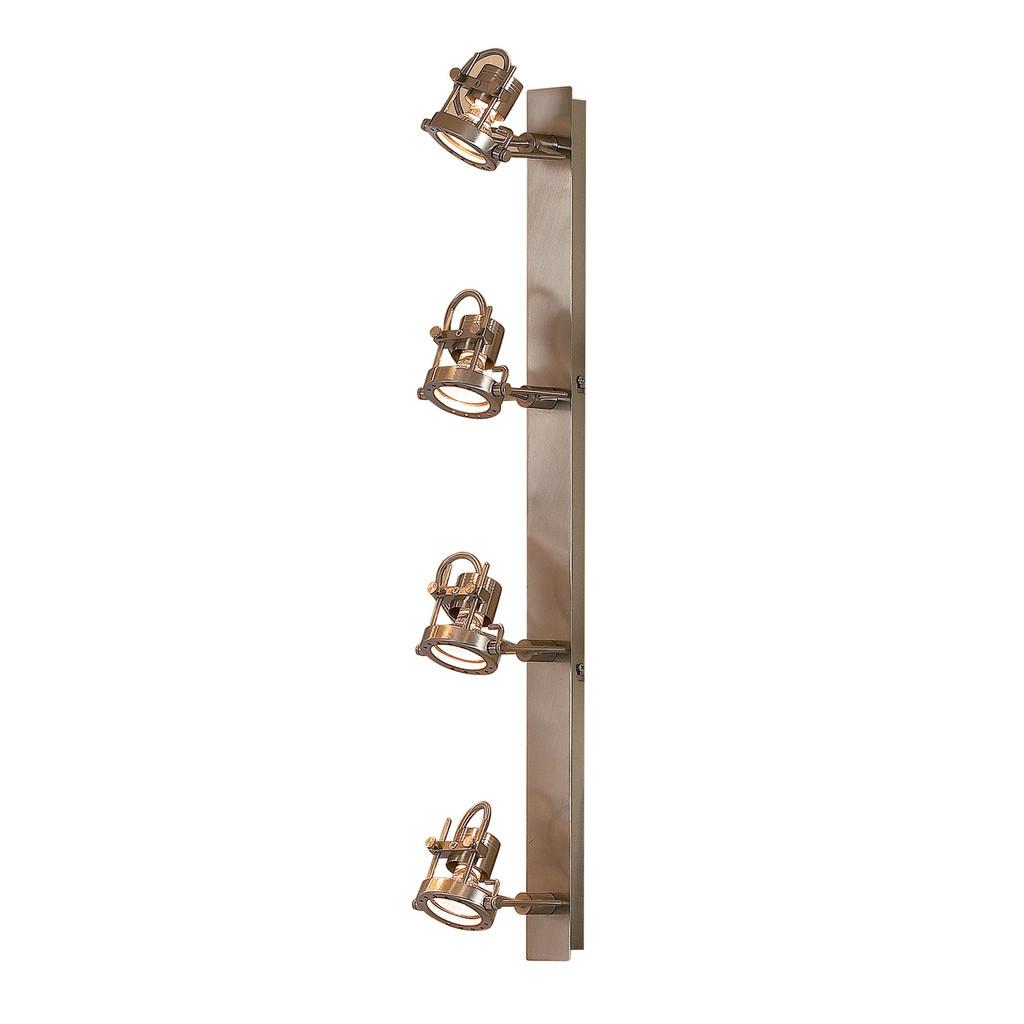 Потолочный светильник Citilux Терминатор CL515541, 4xGU10x50W, матовый хром, металл - фото 1