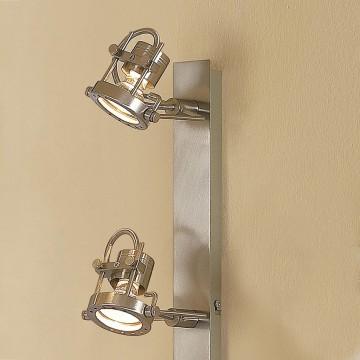 Потолочный светильник Citilux Терминатор CL515541, 4xGU10x50W, матовый хром, металл - миниатюра 3