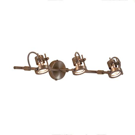 Потолочный светильник Citilux Терминатор CL515631, 3xGU10x50W, матовый хром, металл