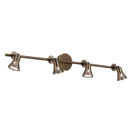 Потолочный светильник с регулировкой направления света Citilux Винон CL519543, 4xGU10x50W, бронза, металл