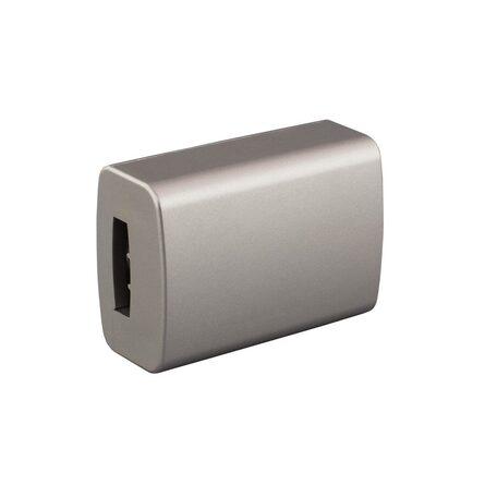 Соединитель для гибкого токопровода Citilux Модерн 560.41.1, серебро, металл
