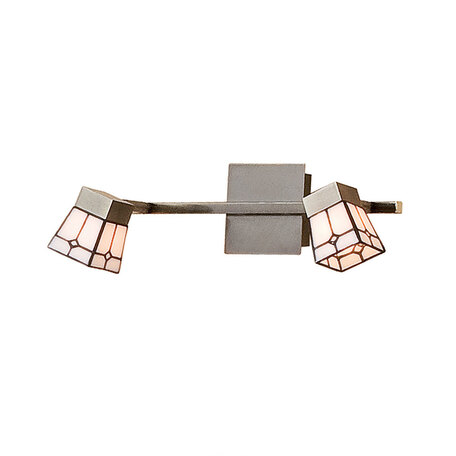 Потолочный светильник с регулировкой направления света Citilux Готика CL512523, 2xG9x40W, бронза, белый, металл, стекло - миниатюра 1
