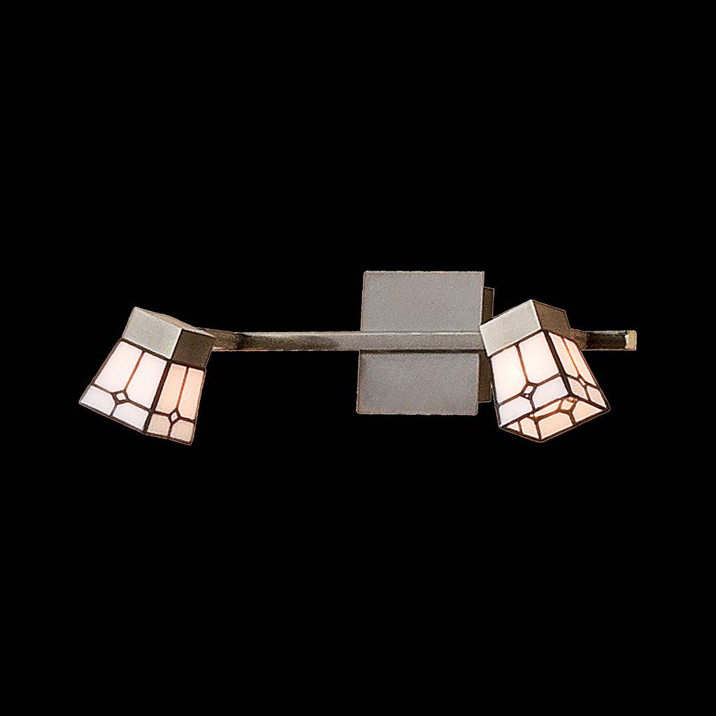 Потолочный светильник с регулировкой направления света Citilux Готика CL512523, 2xG9x40W, бронза, белый, металл, стекло - фото 2