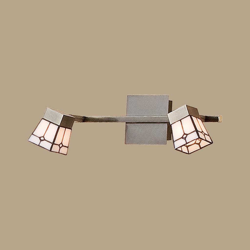 Потолочный светильник с регулировкой направления света Citilux Готика CL512523, 2xG9x40W, бронза, белый, металл, стекло - фото 3