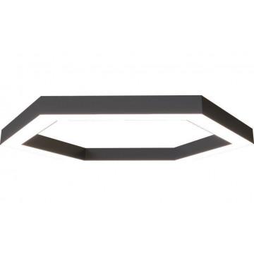 Svetholl Глоу 7709, IP40, черный, черно-белый, металл с пластиком