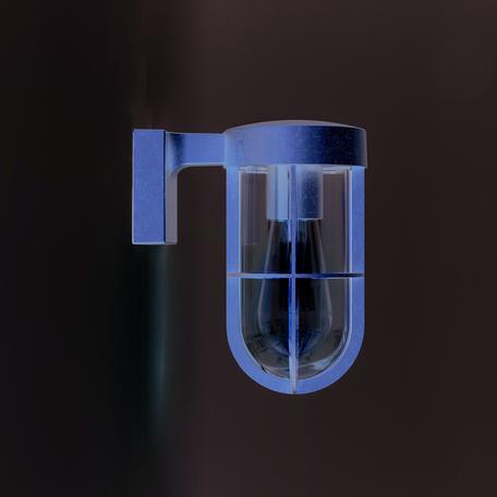 Настенный светильник Astro Cabin Coastal 1368031, IP44, 1xE27x60W, матовое золото, металл, металл со стеклом