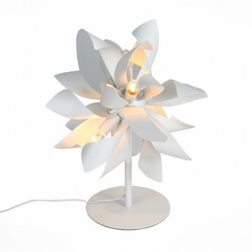 Настольная лампа ST Luce Spiraglio SL453.504.04G, 4xG9x40W, белый, металл