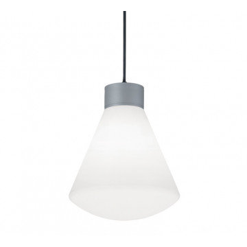 Подвесной светильник Ideal Lux Ouverture 173535, IP44, 1xE27x60W, металл, пластик