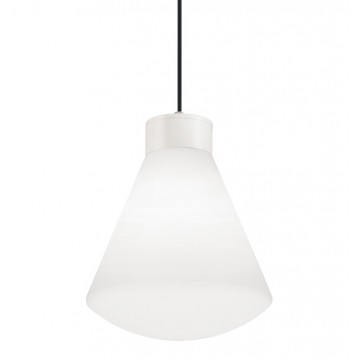 Подвесной светильник Ideal Lux Ouverture 187280, IP44, 1xE27x60W, металл, пластик