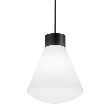 Подвесной светильник Ideal Lux Ouverture 187297, IP44, 1xE27x60W, металл, пластик