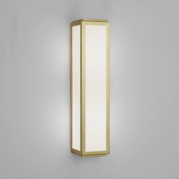 Настенный светильник Astro Mashiko Classic 1121037 (7801), IP44, 2xE14x40W, матовое золото, стекло
