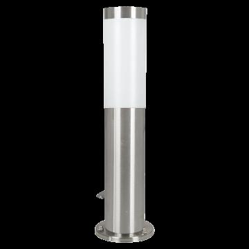 Садово-парковый светильник Eglo Helsinki 81751, IP44, 1xE27x15W, сталь, белый, металл, пластик