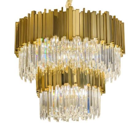 Подвесная люстра L'Arte Luce Luxury Empire L21510.92, 16xE14x40W, металл, стекло