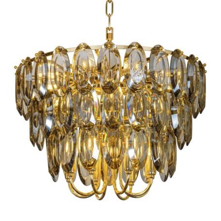 Подвесная люстра L'Arte Luce Luxury Scala L35820, 20xE14x60W, металл, хрусталь