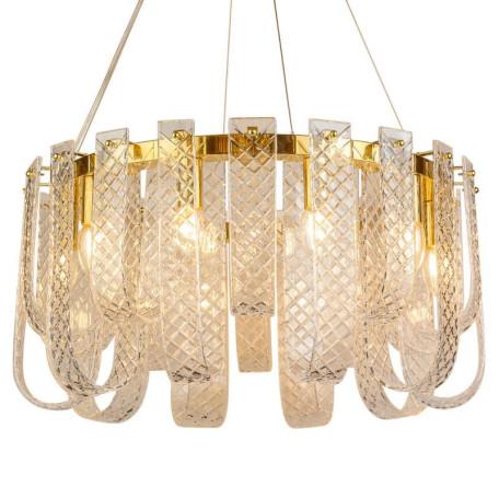 Подвесная люстра L'Arte Luce Luxury Bandiera L35910, 10xE14x60W, металл, стекло