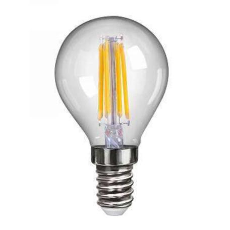 Филаментная светодиодная лампа Voltega VG10-G1E14cold4W-F 7009 капля E14 4W, 4000K (дневной), гарантия 2 года