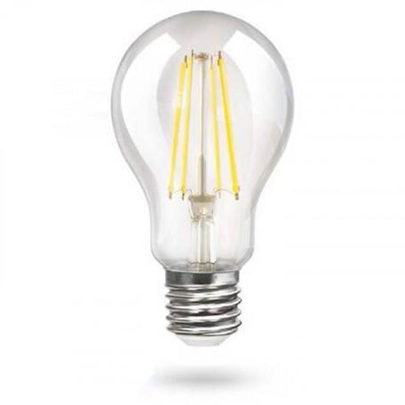 Филаментная светодиодная лампа Voltega Crystal 7103 груша E27 15W, 4000K (дневной) 220V, гарантия 3 года