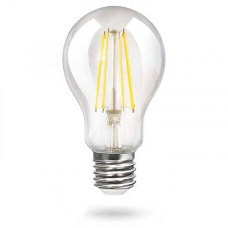 Филаментная светодиодная лампа Voltega Crystal 7103 груша E27 15W, 4000K 220V, гарантия 3 года