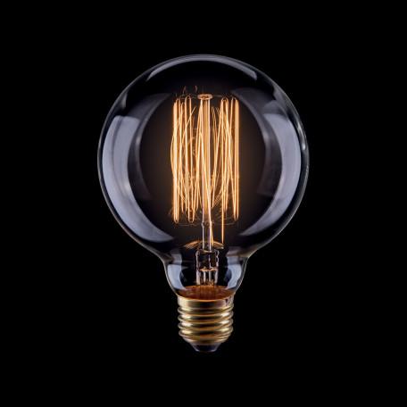 Лампа накаливания Voltega VG6-G80A1-60W 5921 шар E27 60W, 2200K (теплый)