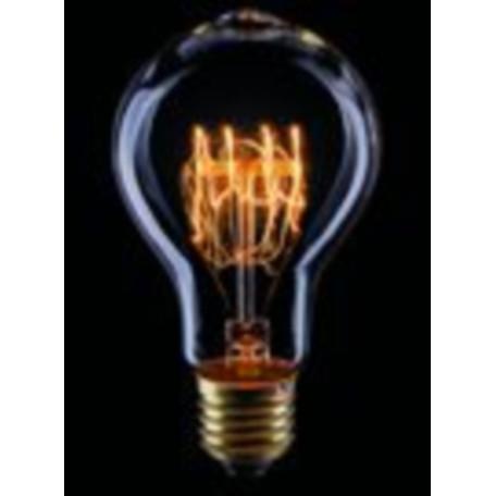 Лампа накаливания Voltega Loft 5931 A75 E27 60W, 2200K (теплый) 220V, гарантия 3 года