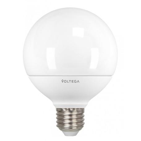Светодиодная лампа Voltega Simple 4871 шар малый E27 12W, 2800K (теплый) 220V, гарантия 2 года