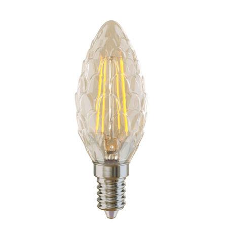 Светодиодная лампа Voltega Crystal 5487 CP35 E14 4W, 4000K (дневной) 220V, гарантия 3 года