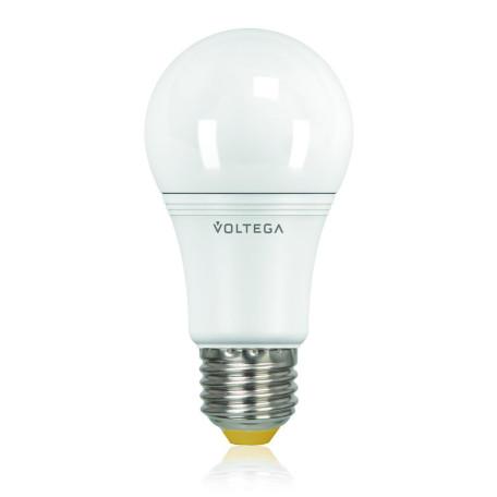 Светодиодная лампа Voltega Simple 6951 A60 E27 15W, 2800K (теплый) 220V, гарантия 2 года