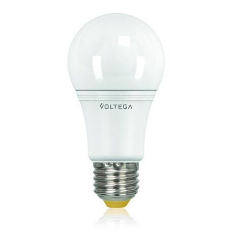 Светодиодная лампа Voltega 6952 A60 E27 15W, 4000K (дневной) 220V