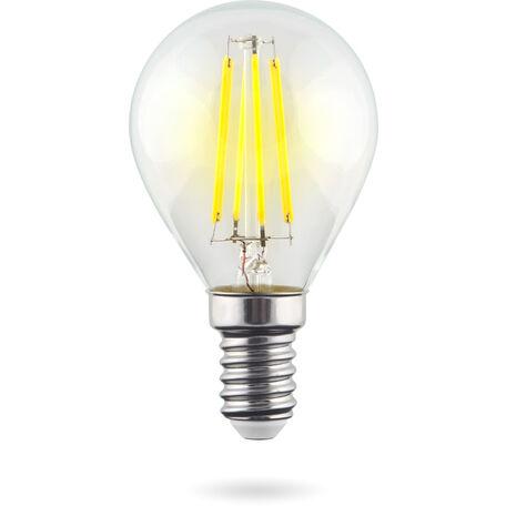 Светодиодная лампа Voltega Crystal 7021 G45 E14 6W 2800K (теплый) 220V, гарантия 3 года