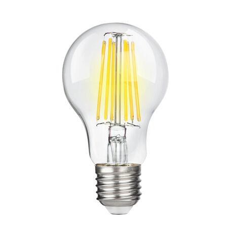 Филаментная светодиодная лампа Voltega Crystal 7101 груша E27 10W, 4000K (дневной) 220V, гарантия 3 года