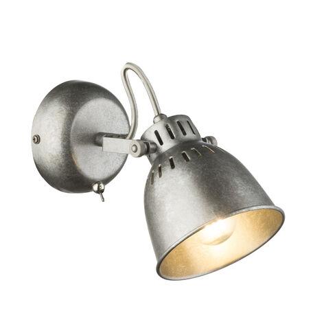 Настенный светильник с регулировкой направления света Globo Hernan 54651-1, 1xE14x40W, металл