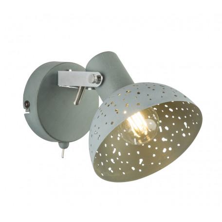 Настенный светильник с регулировкой направления света Globo Fabian 54653-1, 1xE14x25W, металл