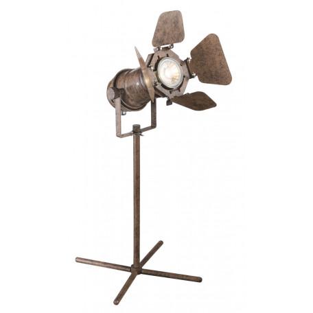 Настольная лампа Globo Egon 54650-1T, 1xGU10x50W, металл
