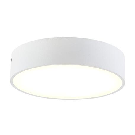 Потолочный светодиодный светильник Citilux Тао CL712180N, LED 18W 4000K 1620lm, белый, пластик