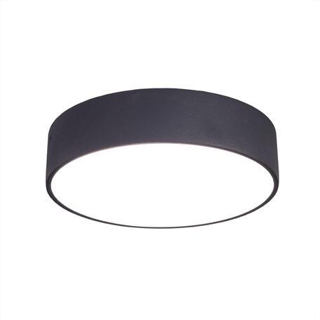 Потолочный светодиодный светильник Citilux Тао CL712182N, LED 18W 4000K 1620lm, черный, пластик