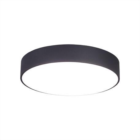 Потолочный светодиодный светильник Citilux Тао CL712242N, LED 24W 4000K 2160lm, черный, пластик